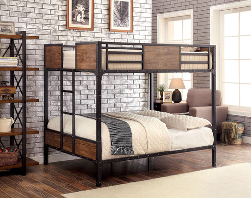 Rustic Industrial Bunk Bed Collection