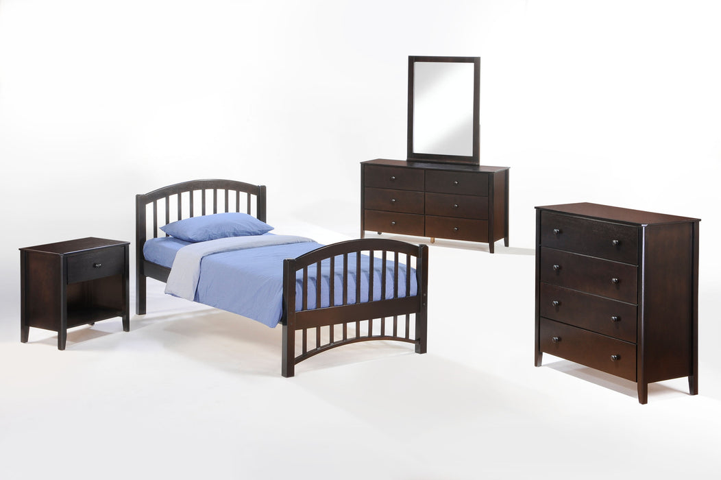 Molasses Platform Bed