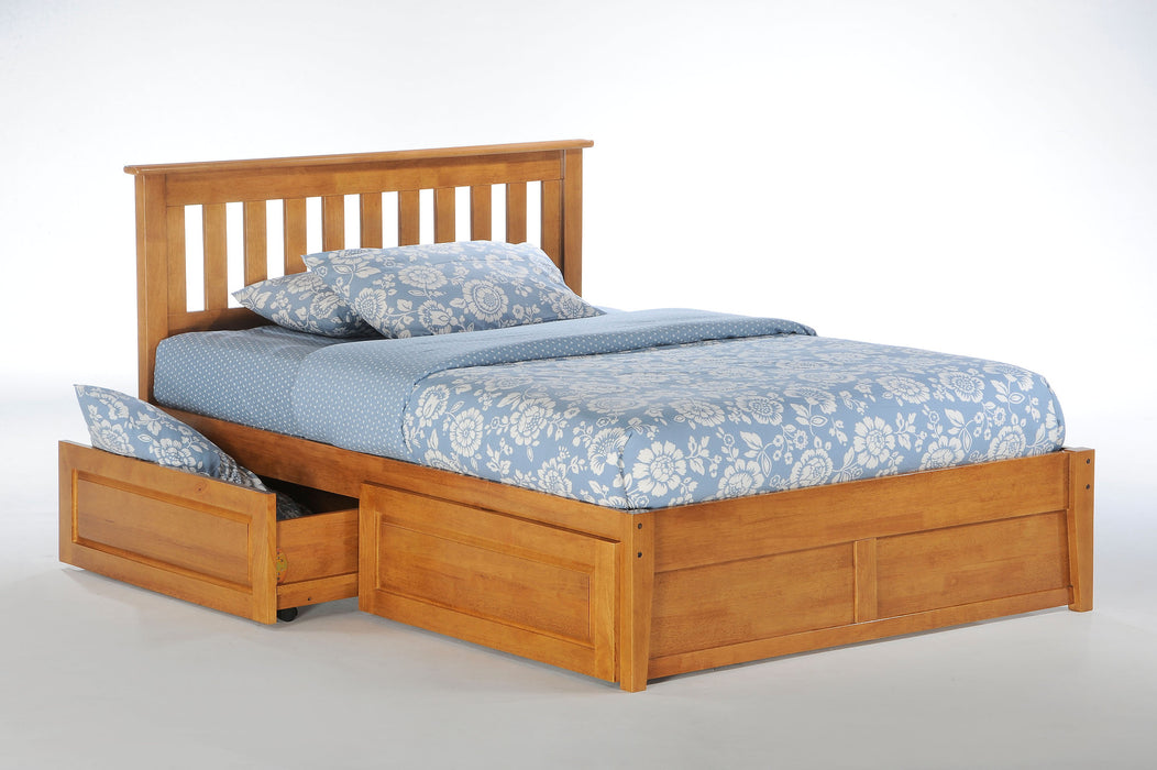 Rosemary Mahogany Platform Bed