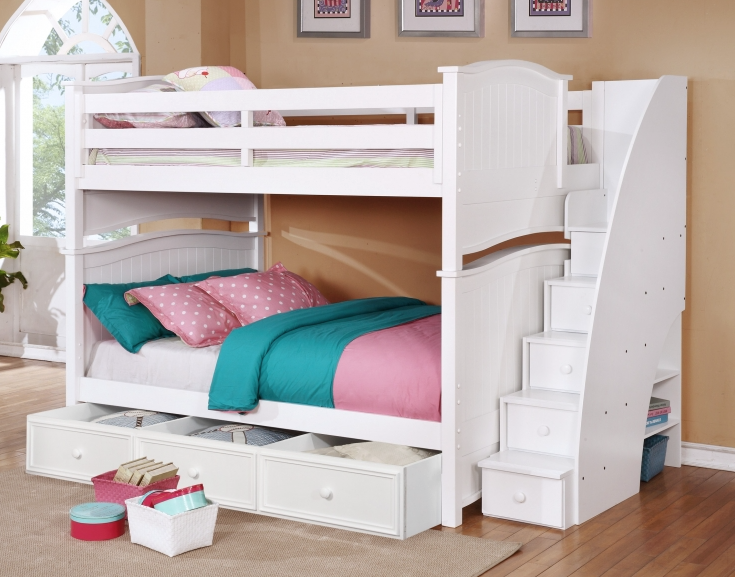Ashton Beadboard Bunk Bed Collection