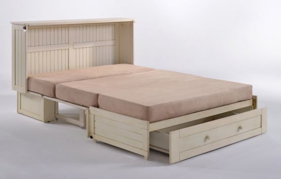 Daisy Murphy Cabinet Bed Queen