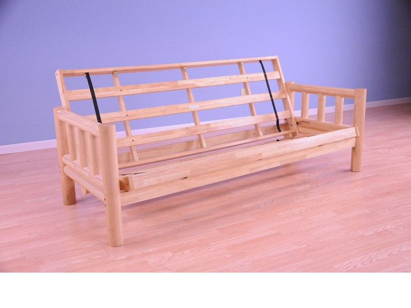 Lodge Log Futon Frame — BEDZ