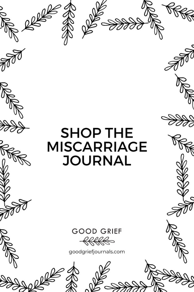 Healing from Miscarriage Journal | Good Grief Journals