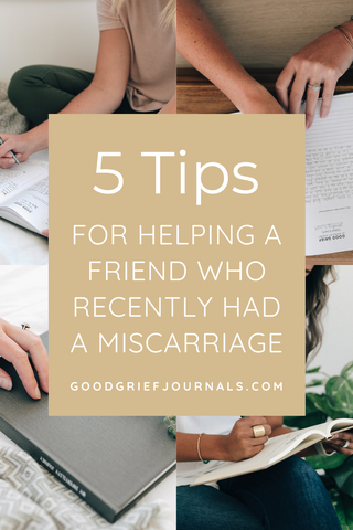 miscarriage mama | good grief journals