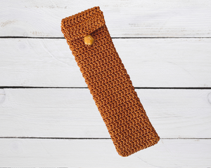Handcrafted Pen Pouch and Sleeve for up to 3 pens