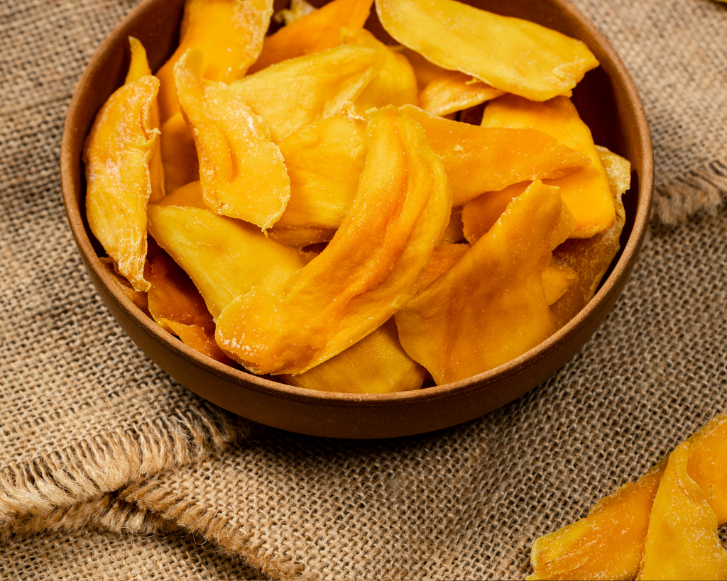Soft Dried Mangoes