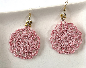 Boho Doily Earrings