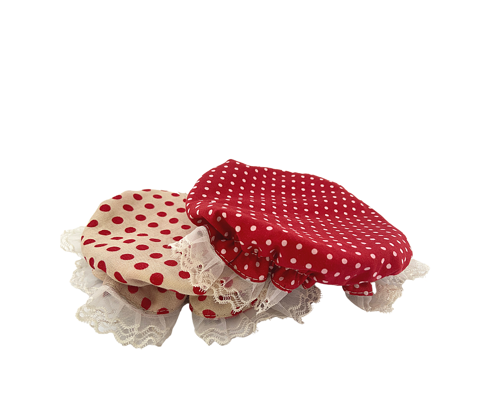 Cookie Jar Bonnet Set ( 2 in a set)- Morning Glory Collection