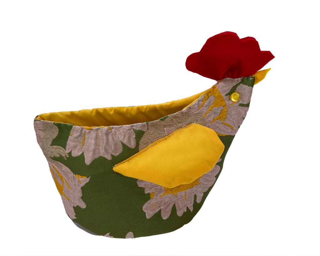 Farmhouse Chicken Basket (Small) - Morning Glory Collection