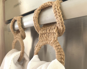 Towel Holder - Oven Towel Holder Set ( 2 in a set)