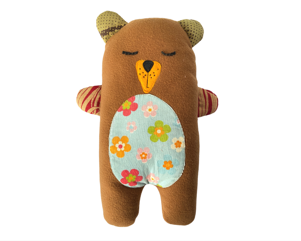 Tammy the Teddy - Handmade Washable Plush Bear Pillow