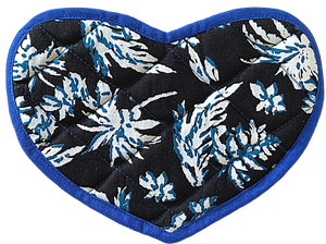 Heart shaped Pot holder-Oven Mitten-Placemat Sets (2 in a set)