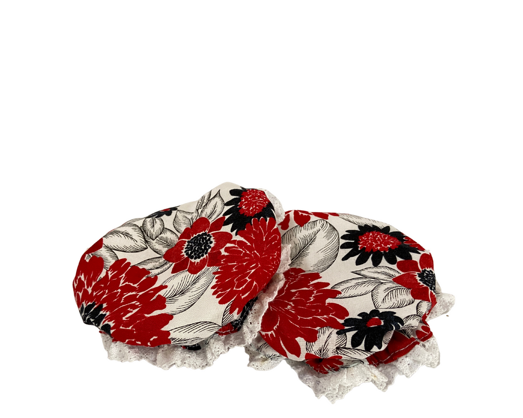 CNY Cookie Jar Bonnet Set ( 2 in a set)- Morning Glory Collection