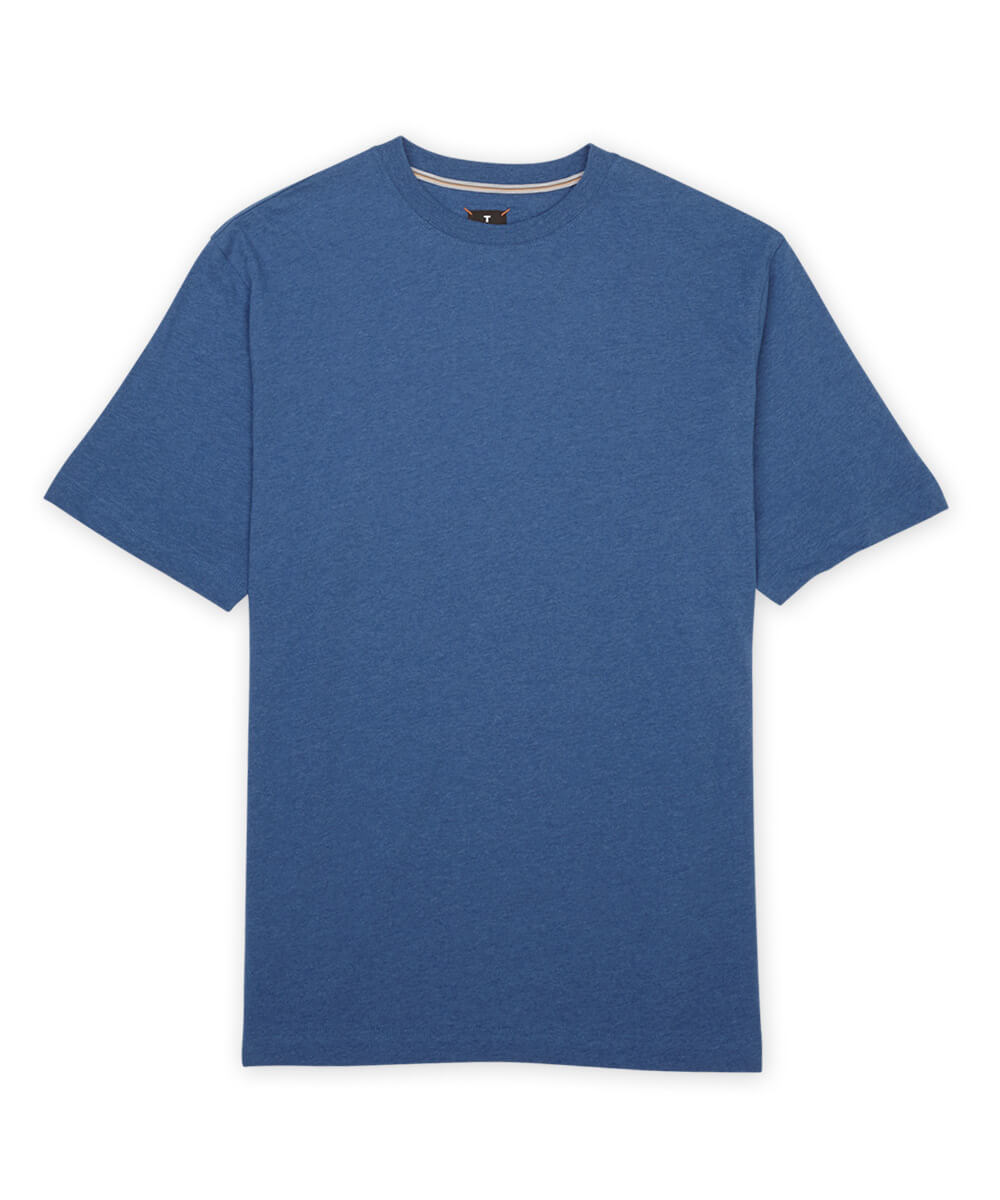 Left Coast Tee Pima Melange Short Sleeve T-Shirt