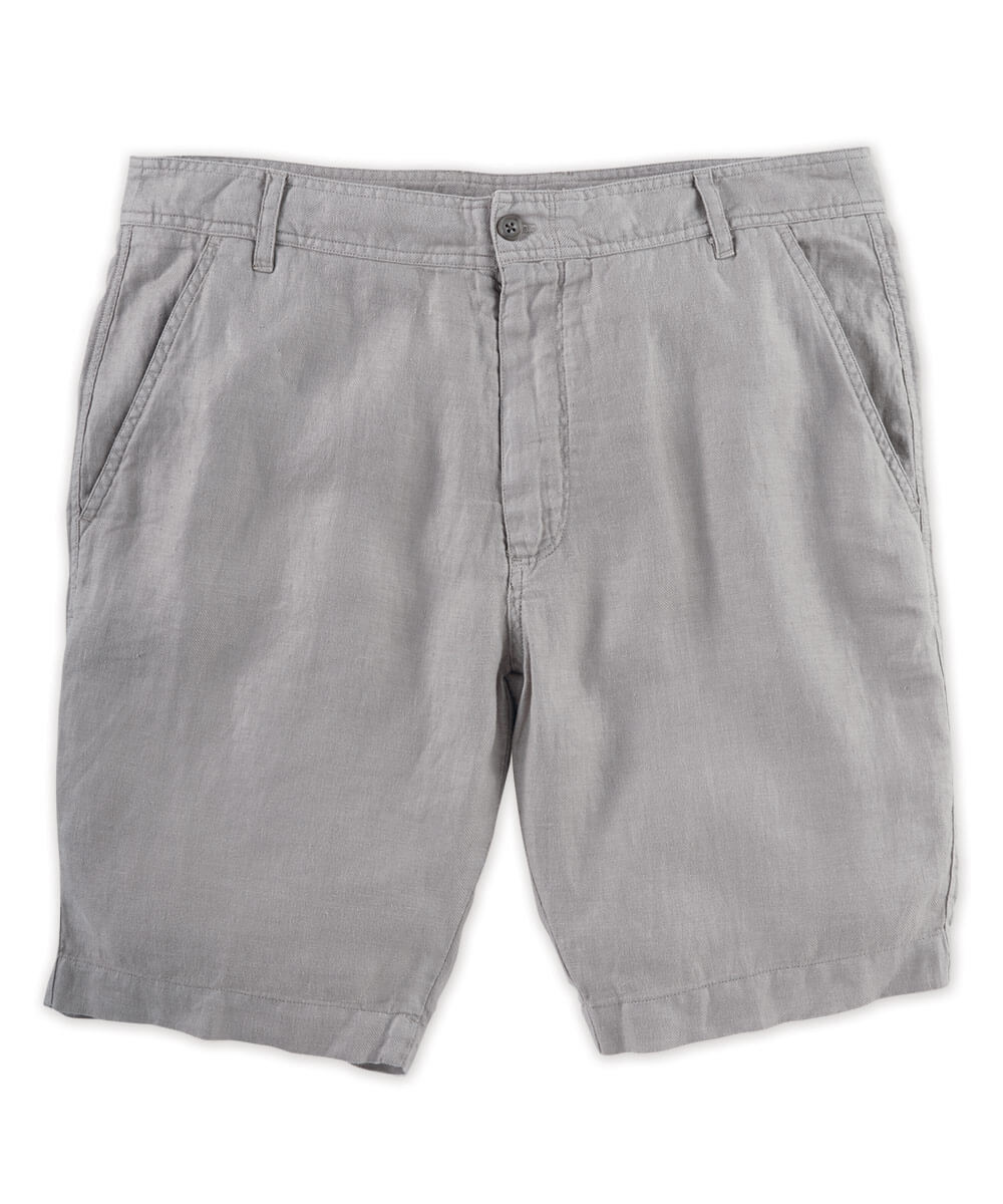 Solid Linen Short