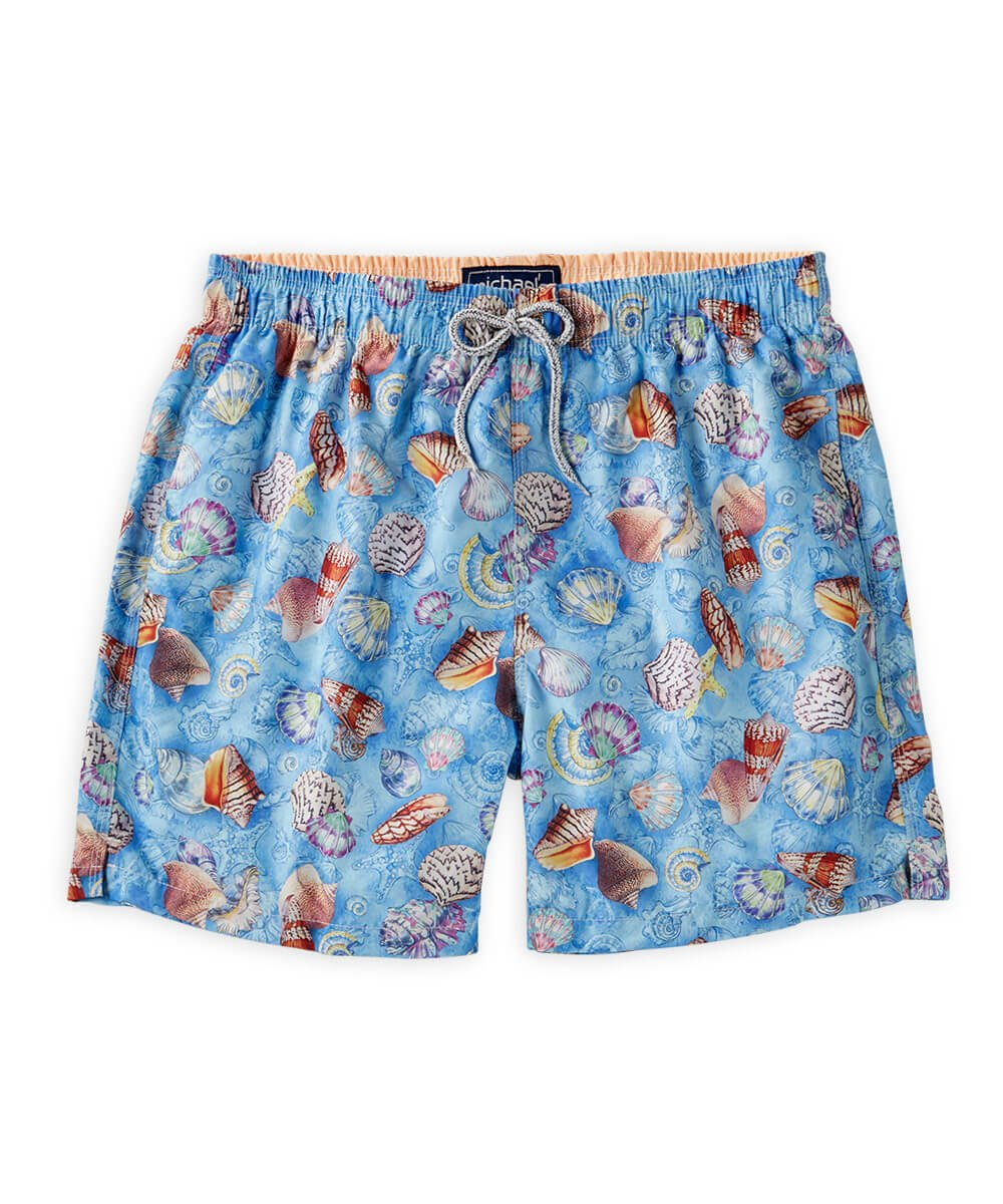 Blue Shells Swim Trunks