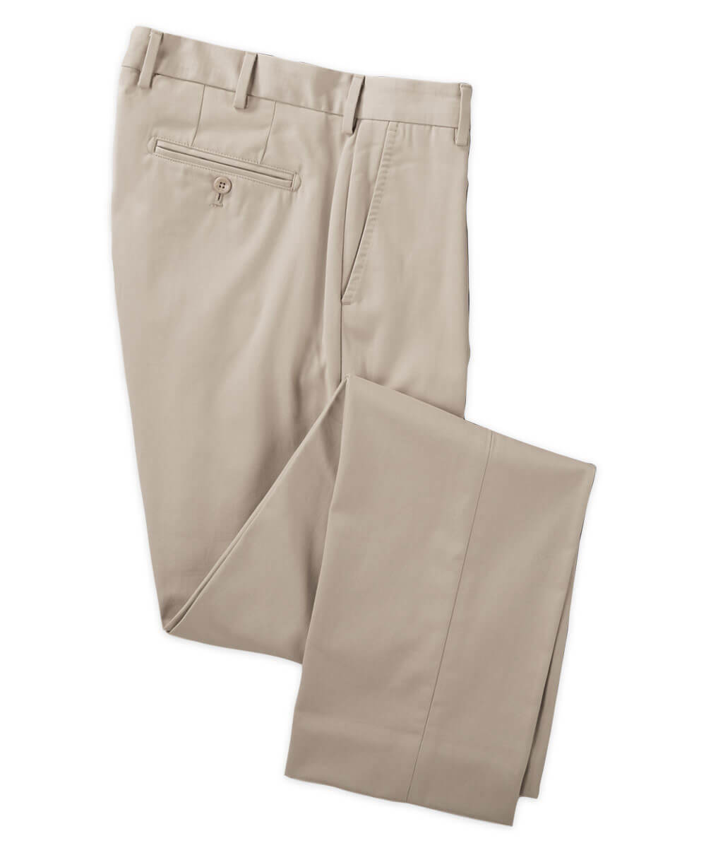 Henry Sage Ultimate Pima Flat-Front Trouser
