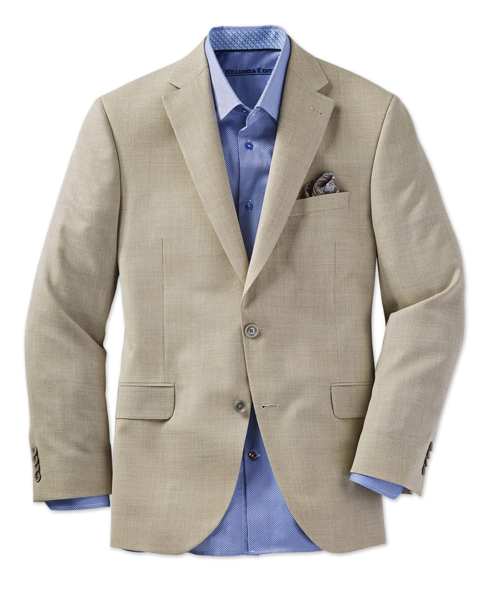 Textured Italian Wool Sport Coat