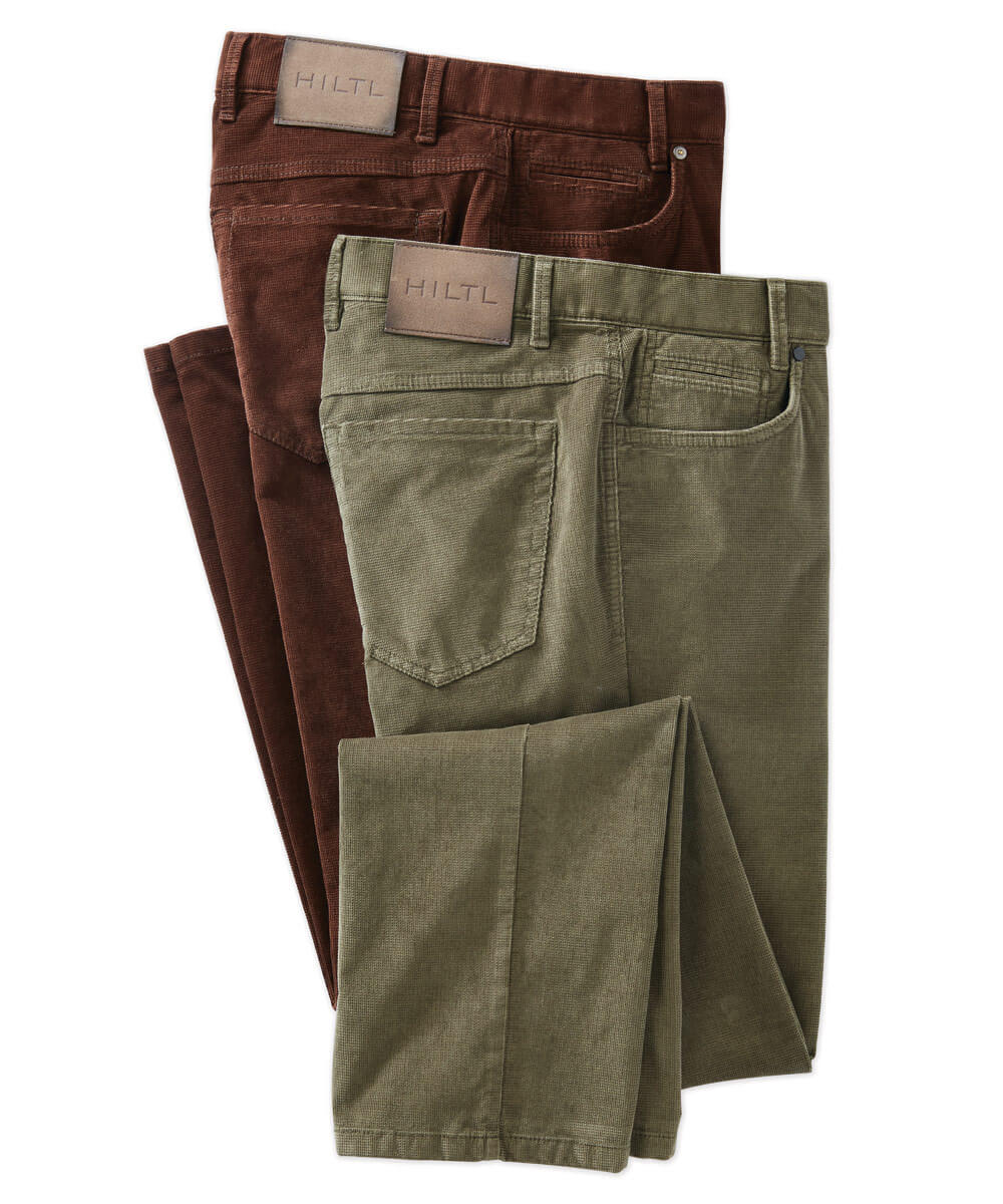 Hiltl Cord Satin Stretch 5-Pocket Pant