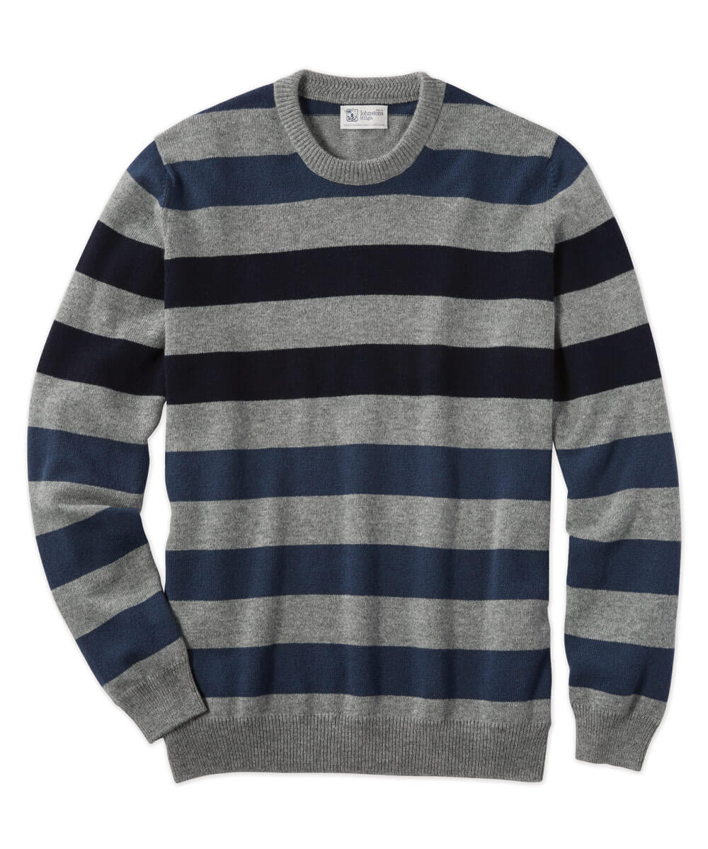 Johnstons Of Elgin Scottish Cashmere Rugby Sweater