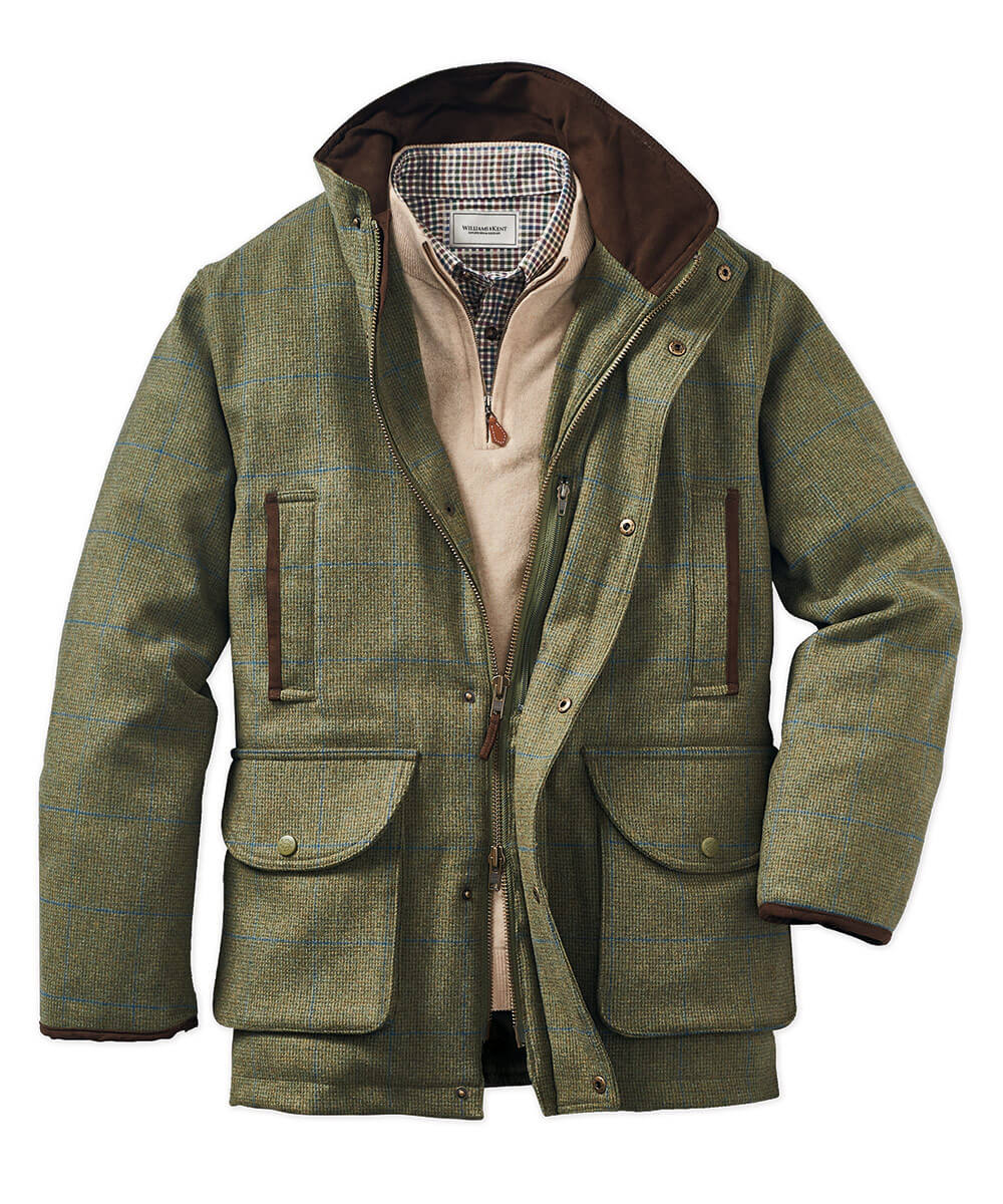 Alan Paine Compton Waterproof Wool Field Coat