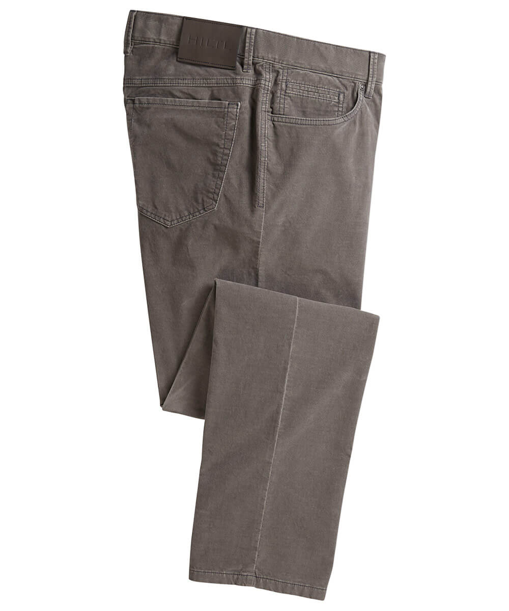 Hiltl Fine-Wale Stretch Corduroy 5-Pocket Dude Pant
