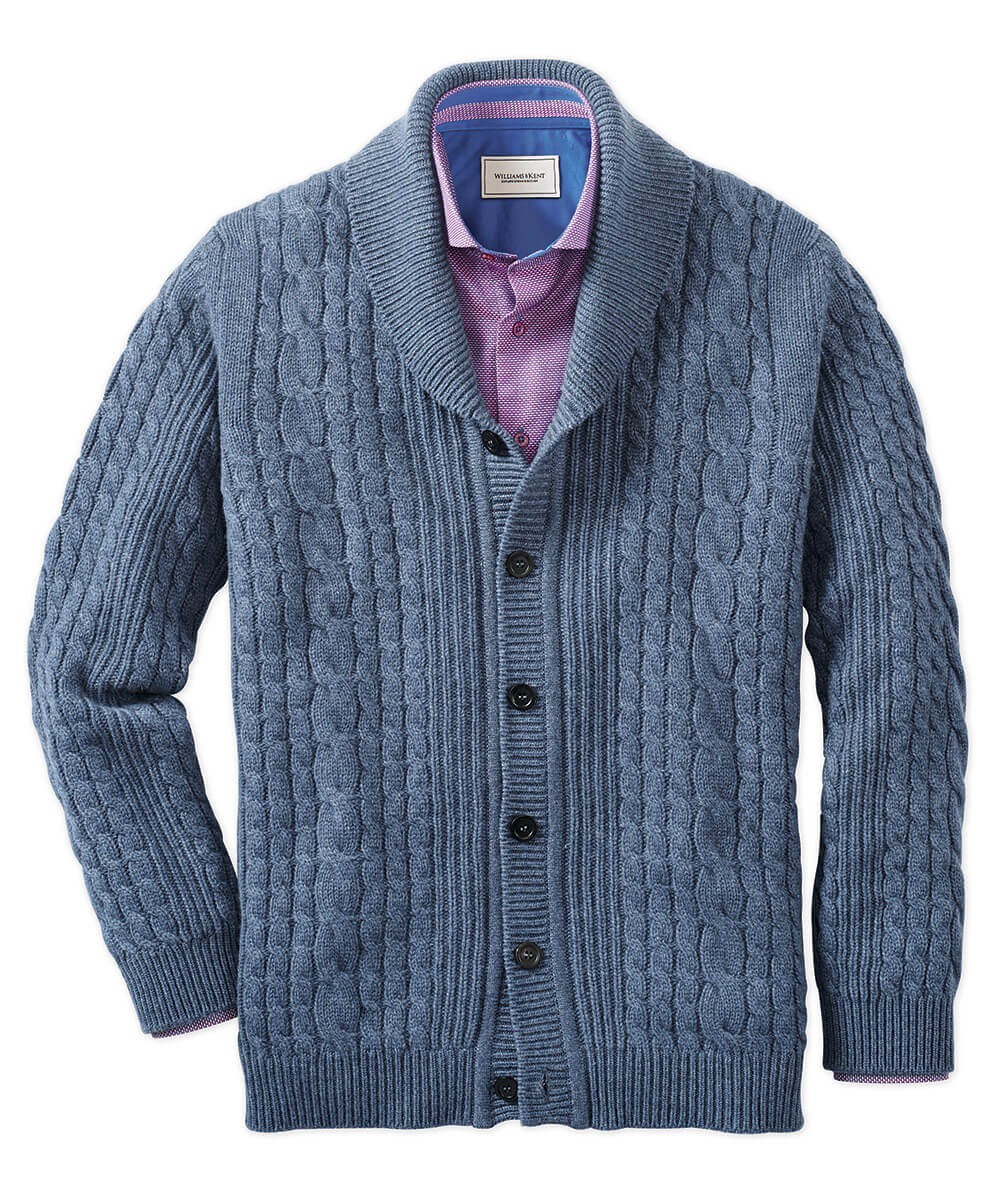 Johnstons Of Elgin Scottish Cashmere Cable Cardigan