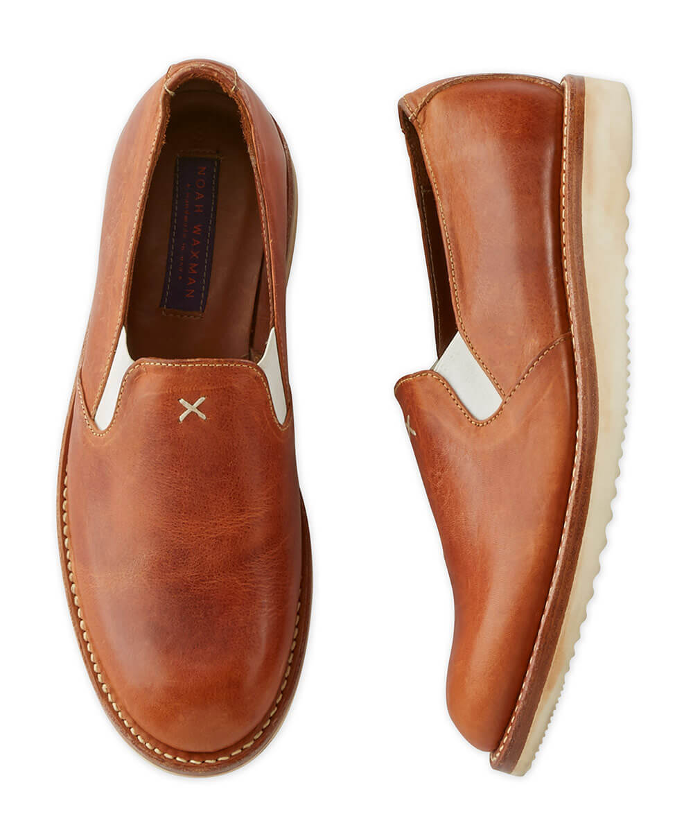 Noah Waxman Malibu Leather Slip-On Shoe