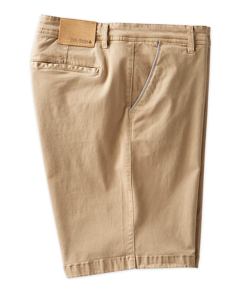 Jack Of Spades Montauk Cotton-Tencel Stretch Short