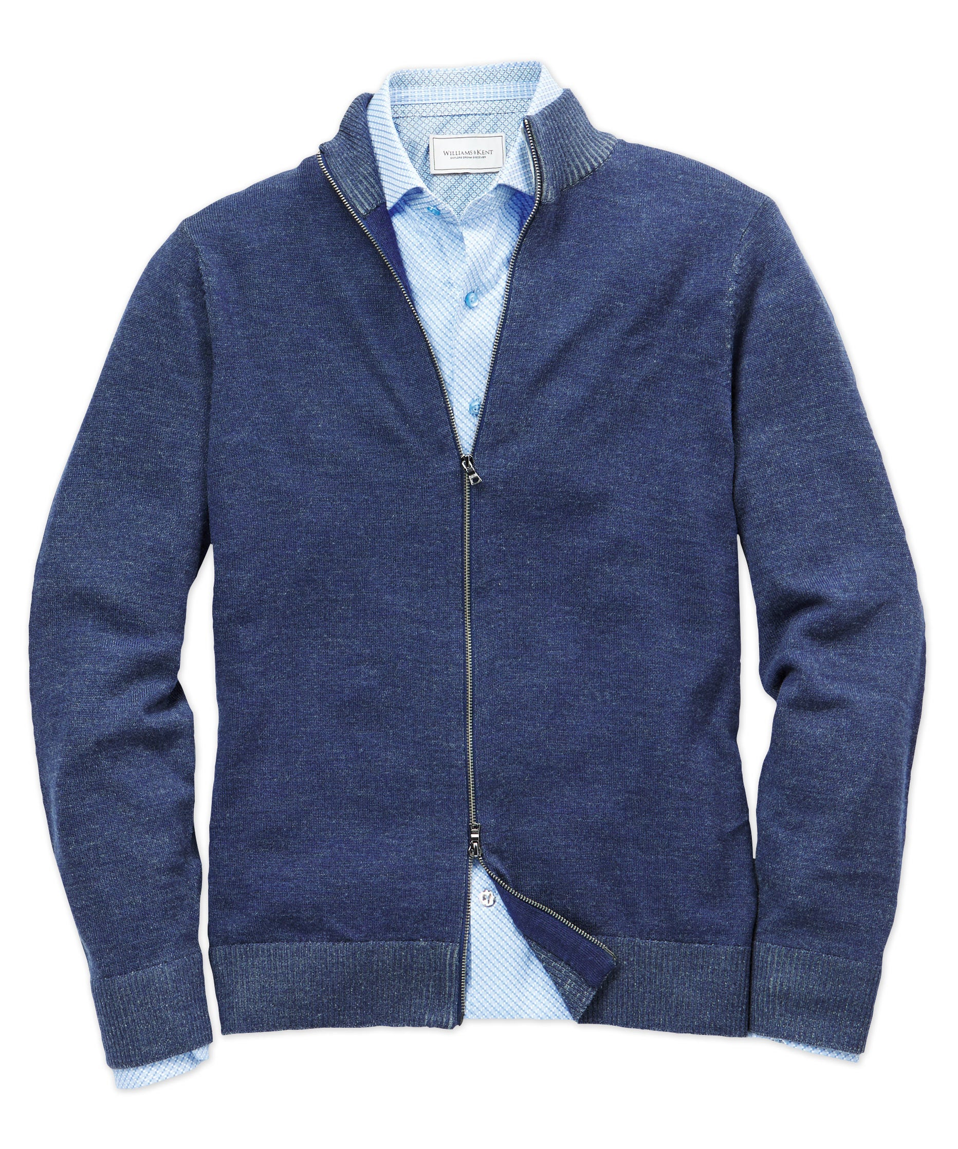 Merino Full-Zip Cardigan