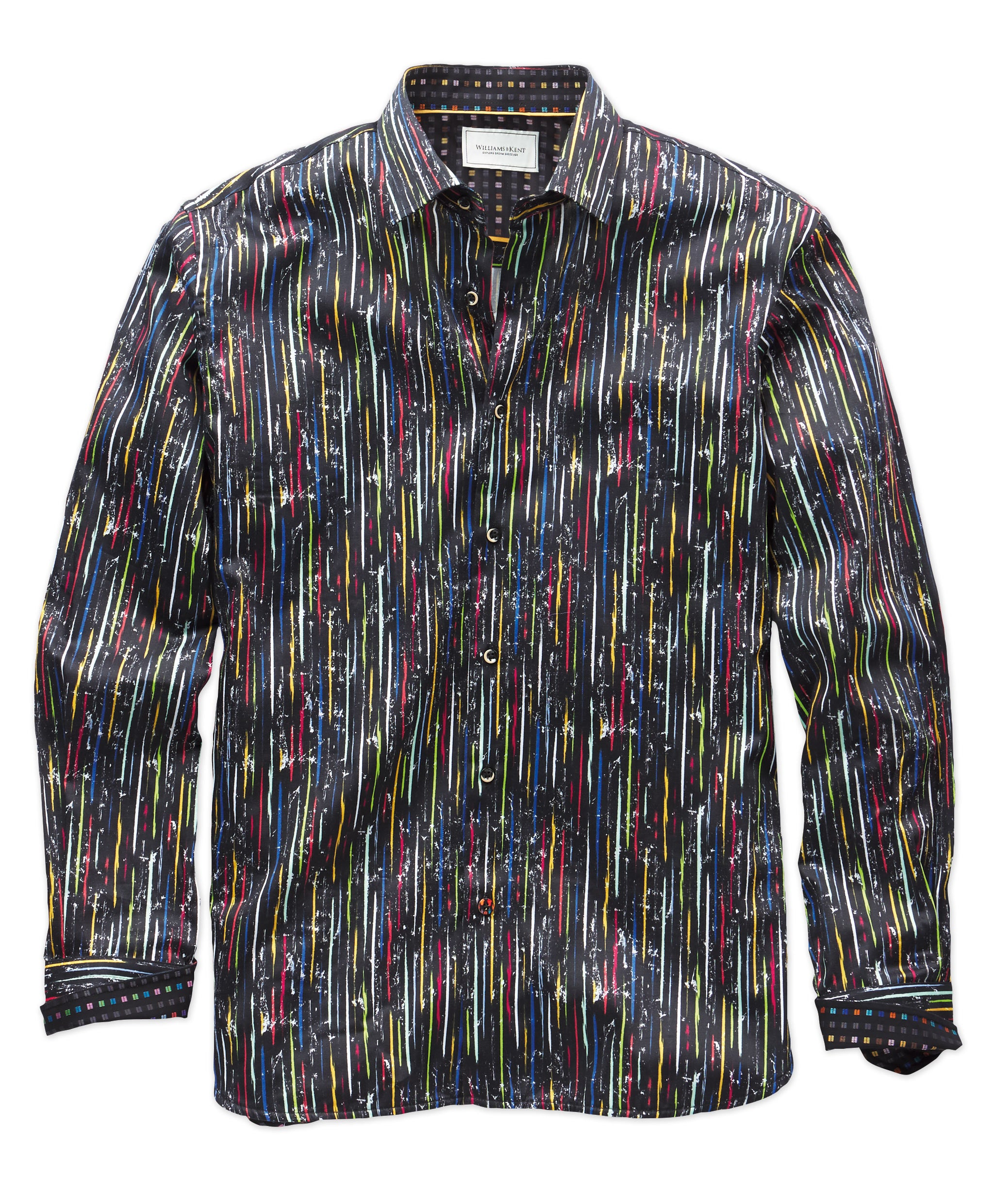 Modern Stripe Long Sleeve Sport Shirt