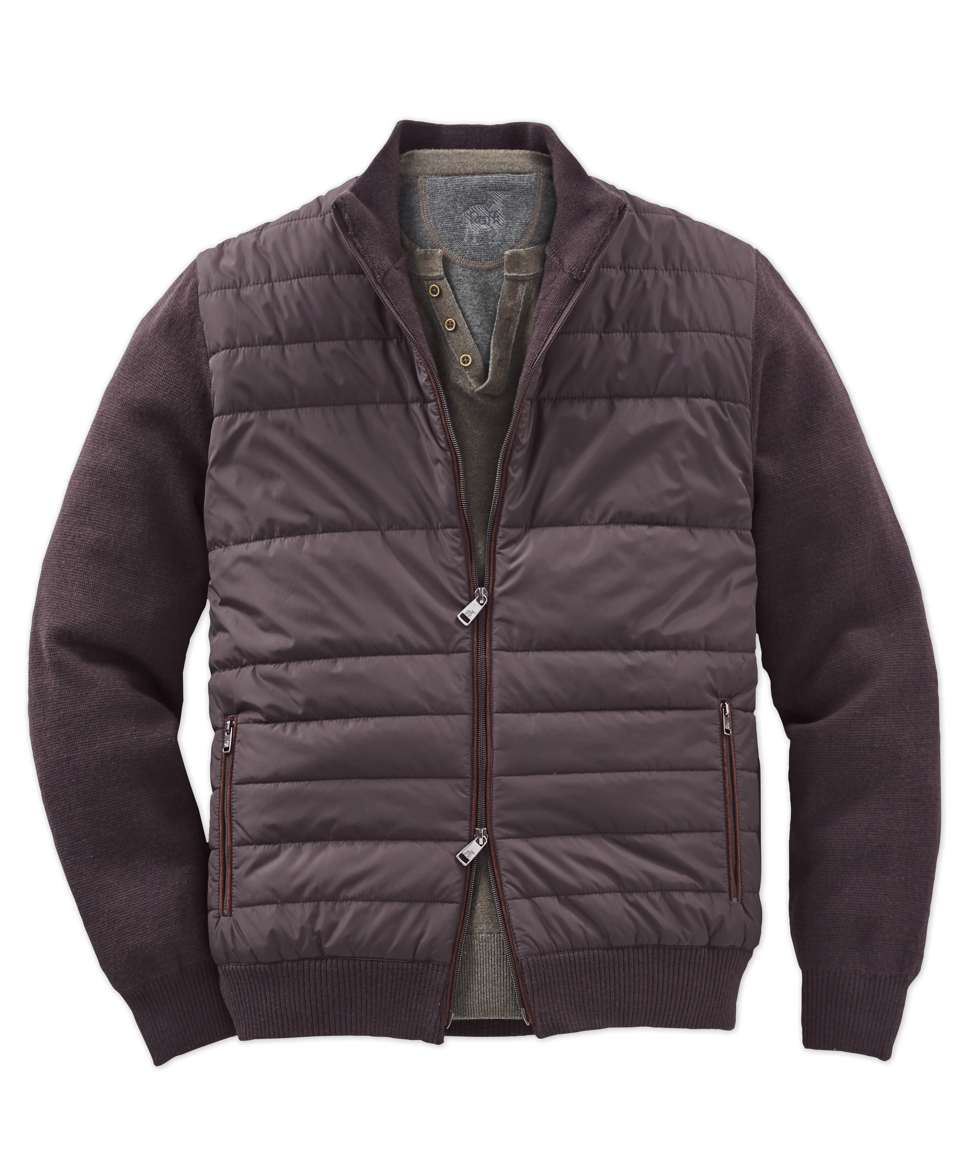 Raffi Quilted Nylon Jacket