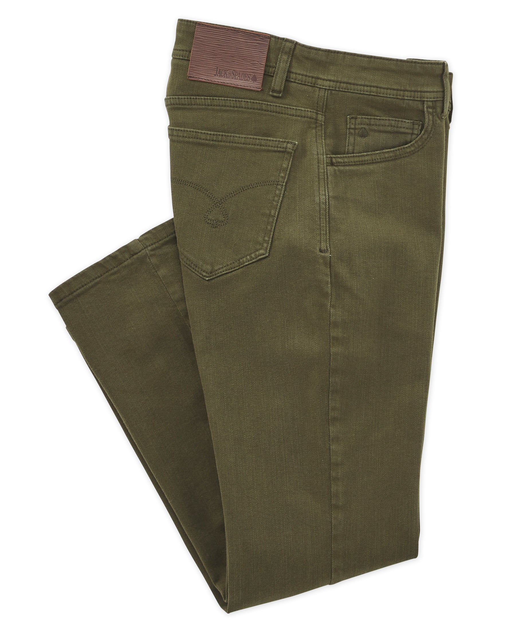 Jack of Spades Stretch Twill 5-Pocket Pant