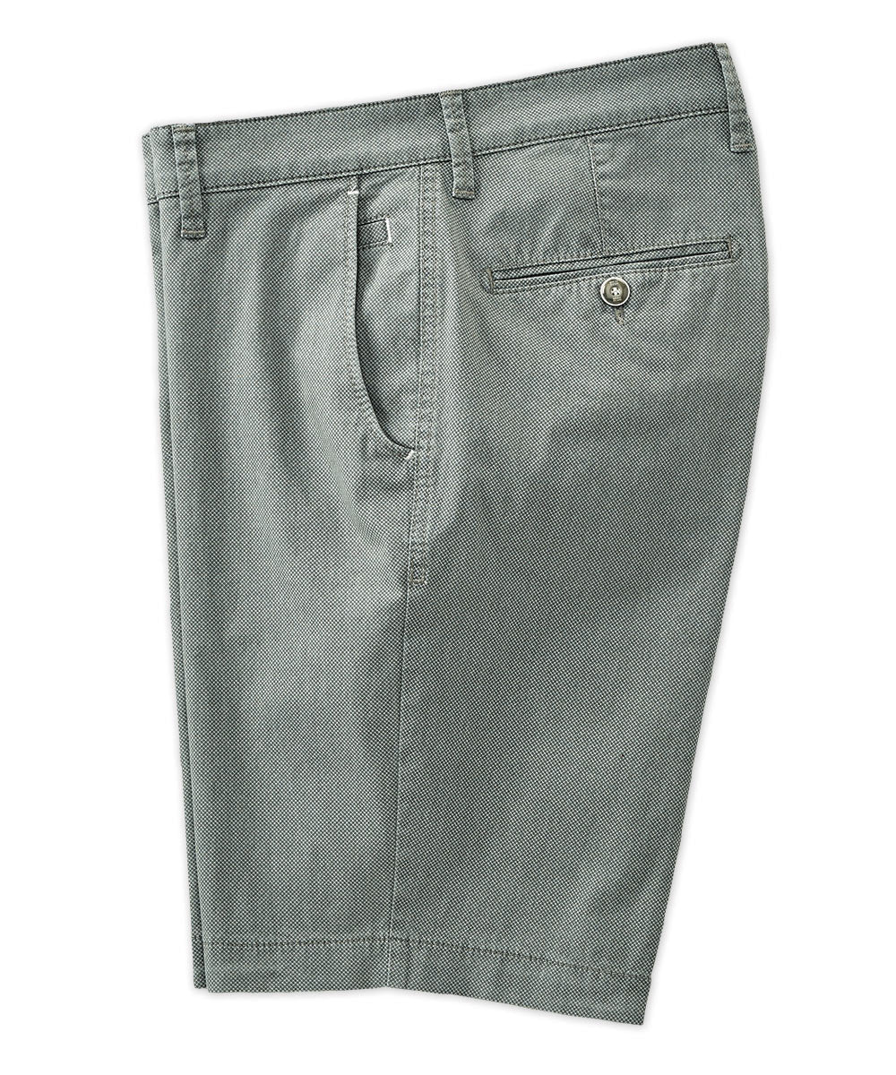 Brax Textured Cotton Stretch Short