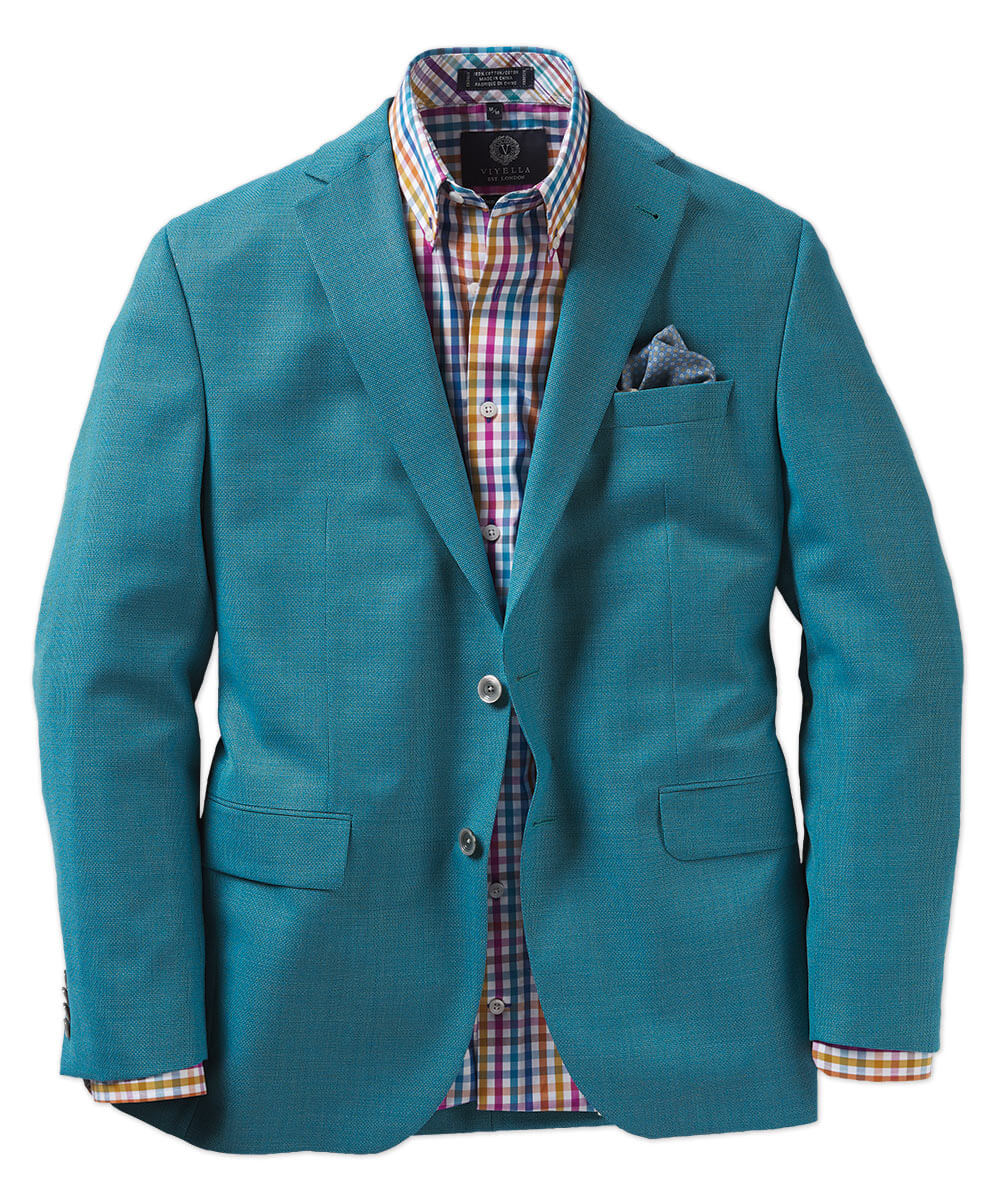 Textured Wool Sport Coat