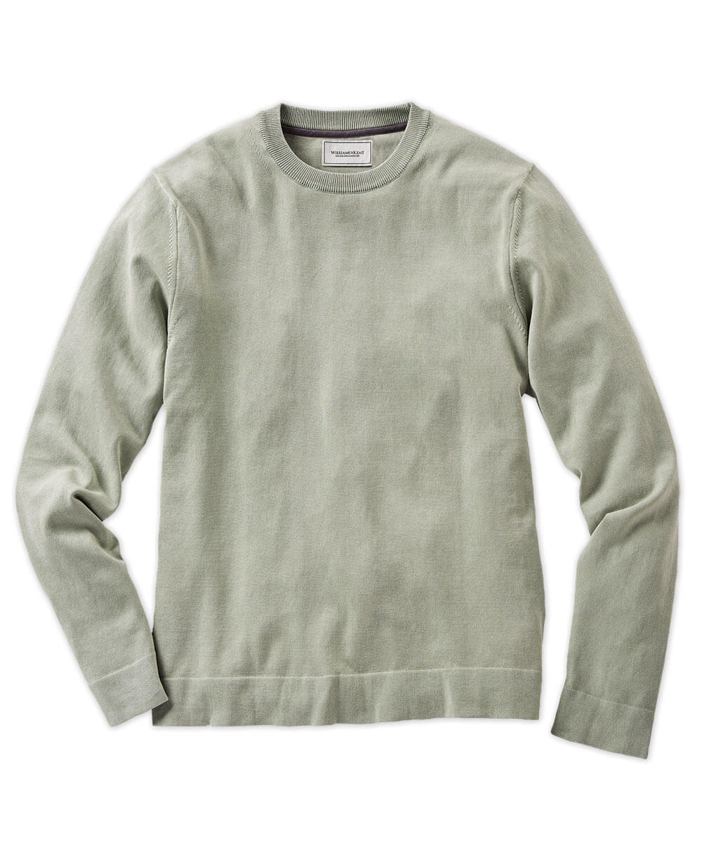 Italian Cotton Crew Sweater