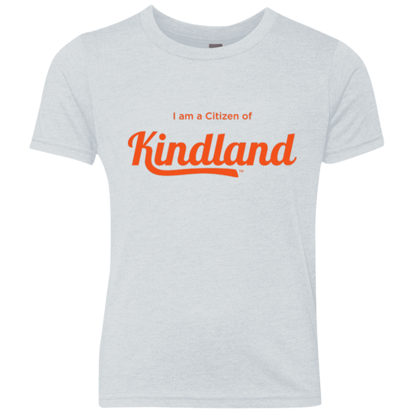 Citizen of Kindland Youth Triblend Crew