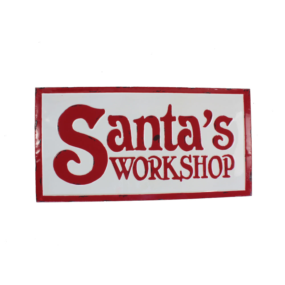 LETRERO SANTA  WORKSHOP