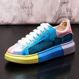 2020 vintage New Men luxury Colorful charming Sneakers platform Casual Flats Shoes Man Rock punk Loafers Sapatos Tenis Masculino