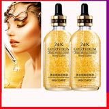 Free Return 24k Gold Nicotinamide Serum Skin Care Deep Facial Anti Aging Intensive Face Lifting Firming Anti Wrinkle Whitening Skin Care