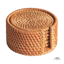 Load image into Gallery viewer, HoH Kitchenware™ 6pcs Rattan Coaster Set