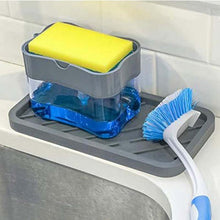 Load image into Gallery viewer, HoH Kitchenware 2-in-1 Soap Dispenser Caddy