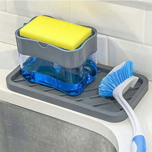 HoH Kitchenware 2-in-1 Soap Dispenser Caddy