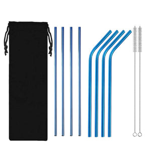 HoH Kitchenware™ Reusable Stainless Steel Straws