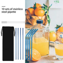 Load image into Gallery viewer, HoH Kitchenware™ Reusable Stainless Steel Straws