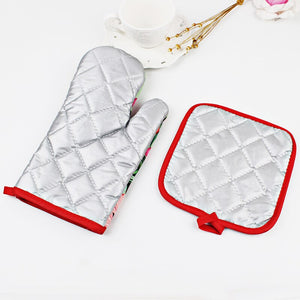 HoH Kitchenware Holiday Oven Glove & Mitt
