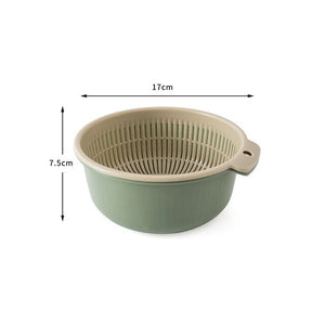 HoH Kitchenware Double Drain Basket Bowl
