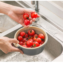 Load image into Gallery viewer, HoH Kitchenware Double Drain Basket Bowl