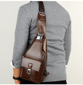 [50% FLASH DEAL🔥]TS™ Premium Leather Crossbody Messenger Bag