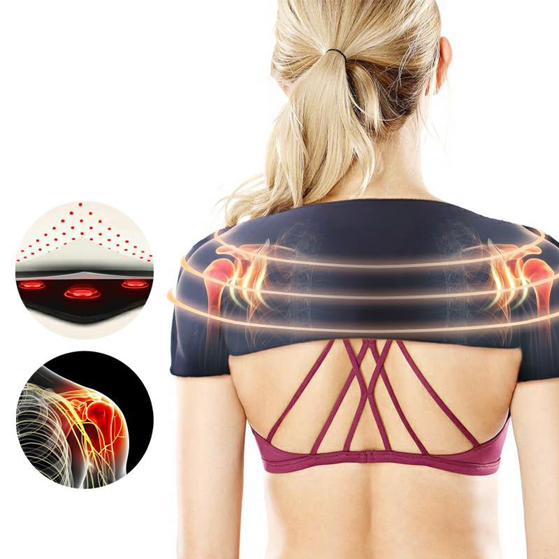 【SPECIAL PROMOTION FOR TODAY🔥】 TS™ Self-heating Tourmaline Shoulder Magnetic Therapy